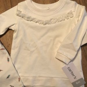 Carter's Matching Sets - 6 month outfit